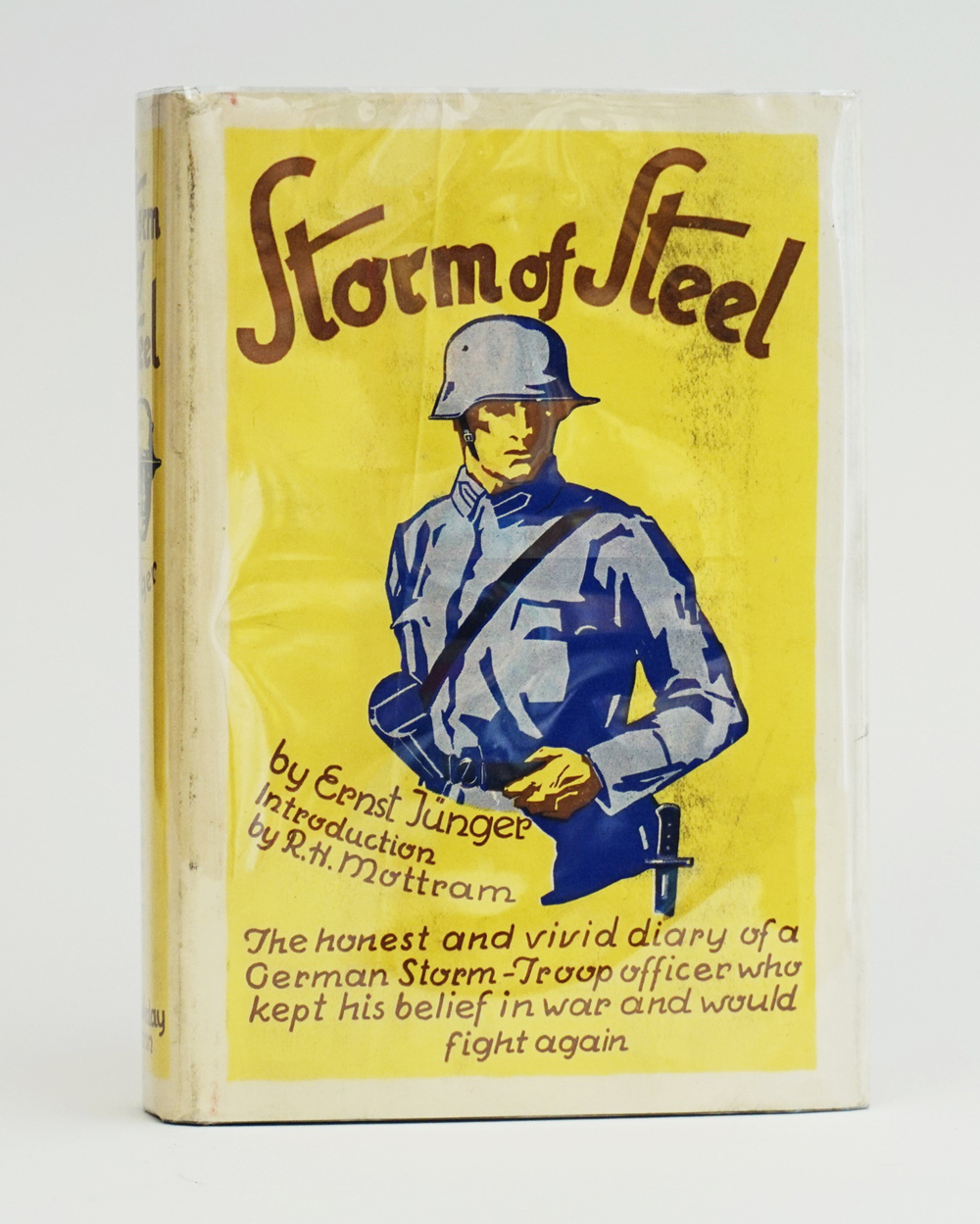 Storm of Steel. New York: Doubleday Doran & Co, 1929.